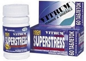 Витамины антистресс витрум