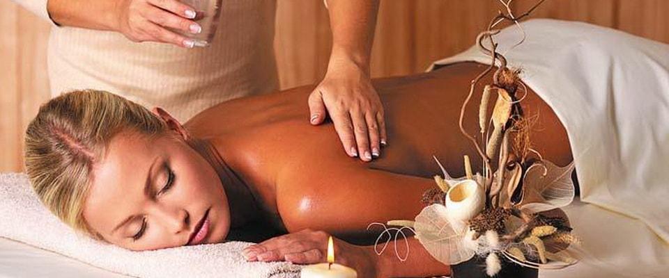 Снимаем стресс массаж