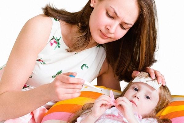 У ребенка температура от стресса