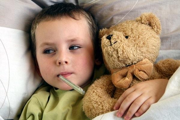 Температура от стресса у ребенка