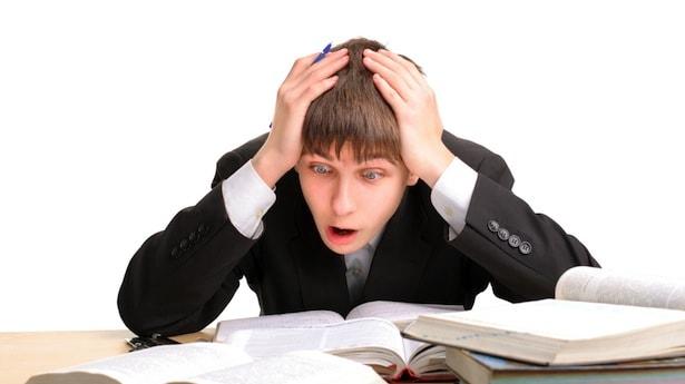 Стресс у старшеклассника