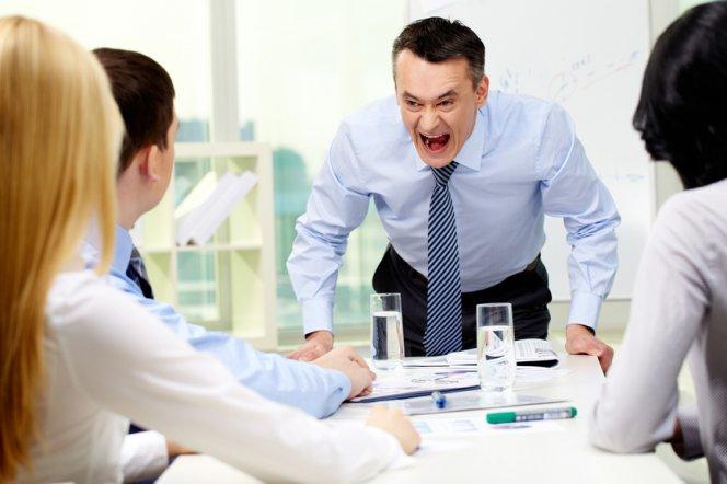 Стресс начальство