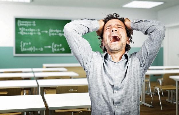 Стресс у учителя