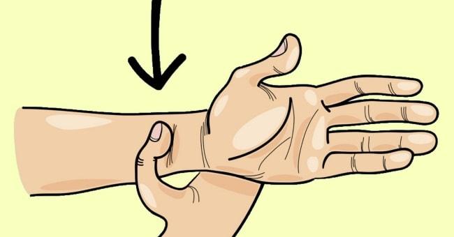 Точечный массаж от стресса