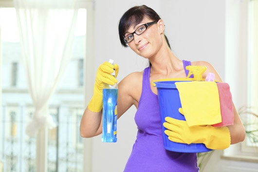 Уборка по дому при стрессе