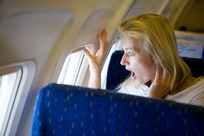 Страх летать в самолёте