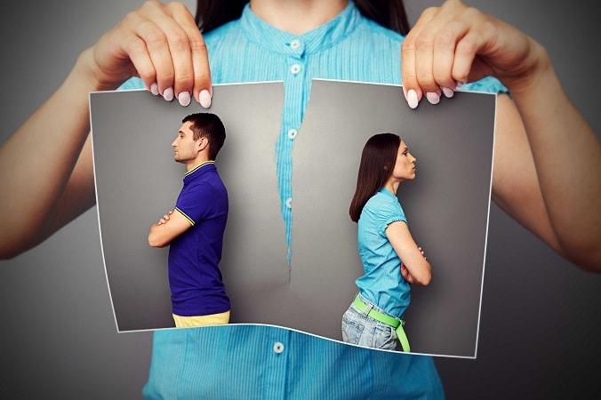 Развод по шкале стресса