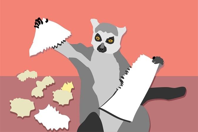 Порвать бумагу