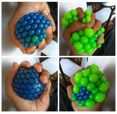 Варианты антистресс мячиков