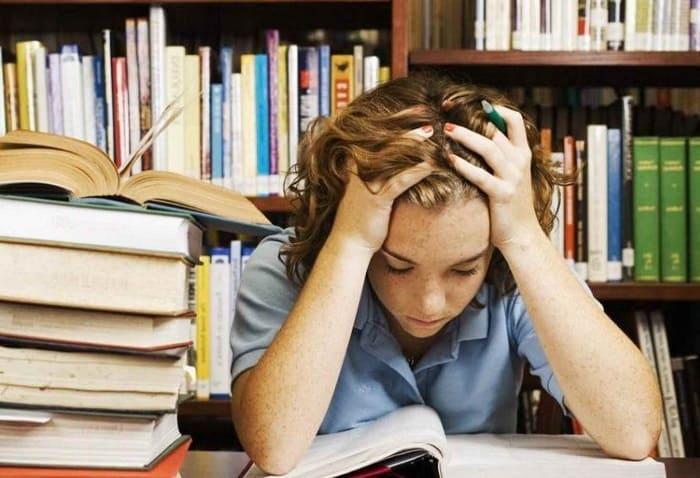 Стресс перед экзаменом