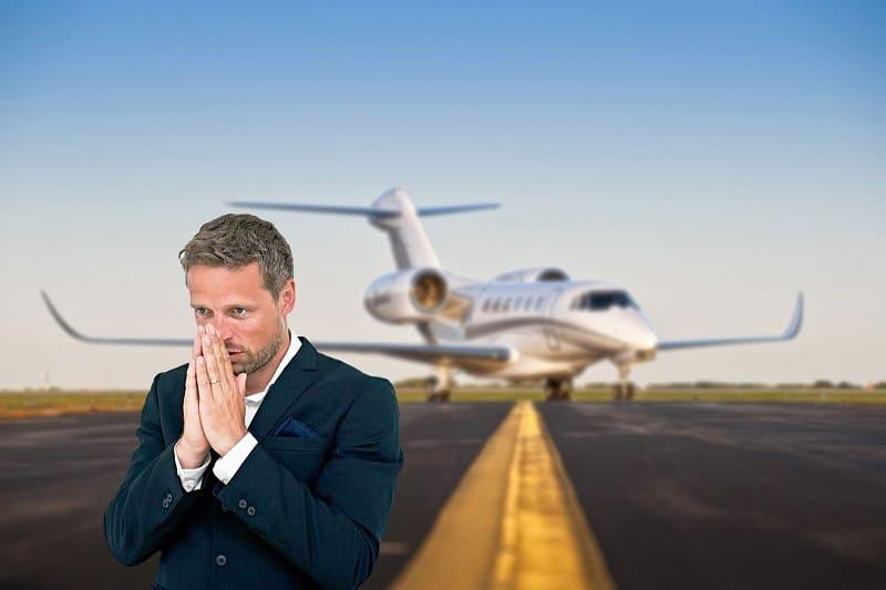 Аэрофобия или боязнь самолетов